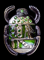 scarab with gems