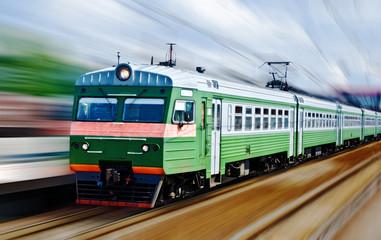 fast passanger train