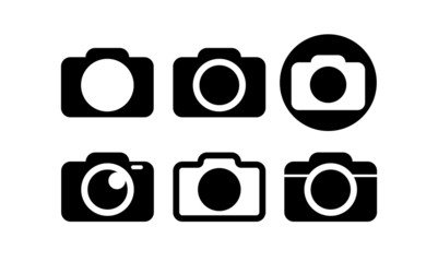 Simple Camera Icon Set