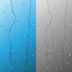Wall Mural - Water drops