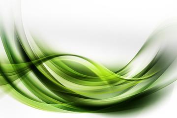 Obraz Beautiful Modern Green Abstract Background - fototapety do salonu