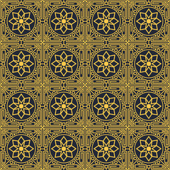 Islamic themed seamless pattern