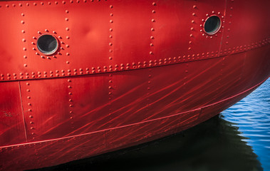 Red Boat Detail