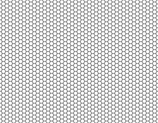 Grille Hexagonal cell texture