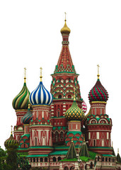 St. Basil's Cathedral. Red Square. Moscow.Russia