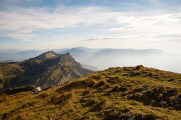 Au sommet de la Grande Sure (Chartreuse sud / Isère)