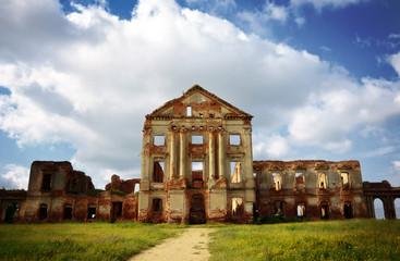 ruins of old palace