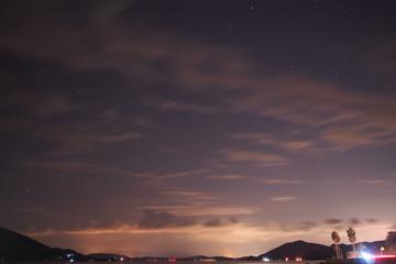 小豆島の夜