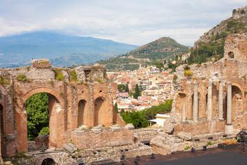 Greek-roman theater, Taormina
