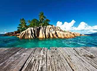 Foto op Plexiglas Tropical strand Beautiful tropical island