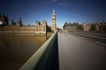 Wall Mural - London skyline include Westminster Palace and Big Ben