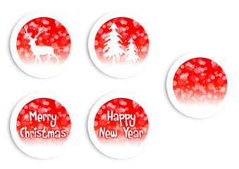 Christmas Buttons / Button Set