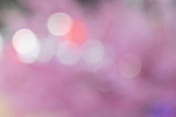 Colorful bokeh images for wallpapers, texture, background.