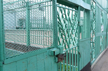 Fence in the colony of special regime. Inner perimeter