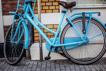 Bicycle on the street.