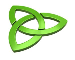 Green trinity sign
