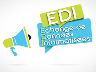 mégaphone : EDI (français)