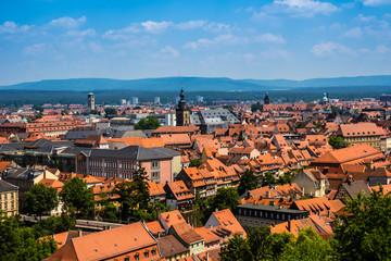 Stadtpanorama von Bamberg