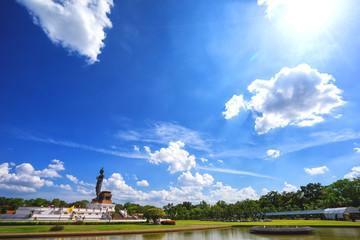Big Buddha statue at phutthamonthon, Nakhon Pathom, Thailand