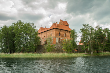 Trakai castle building