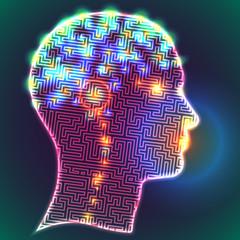 Labyrinth brain neurons
