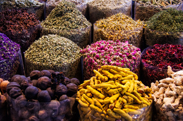 Composition with different spices