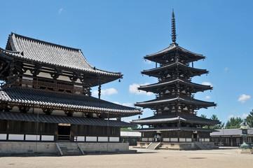 世界遺産奈良法隆寺