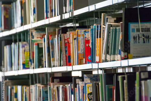 Bookshelves Full Of Books Stock Photo And Royalty Free Images On