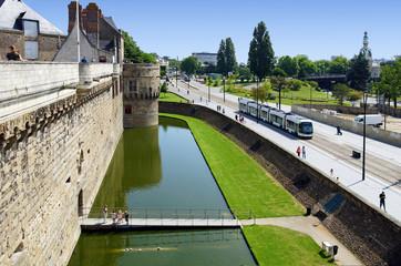 centre de Nantes Fototapete