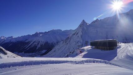 Bergstation Galtür