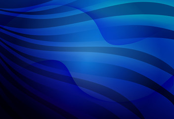 linear wavy blue background