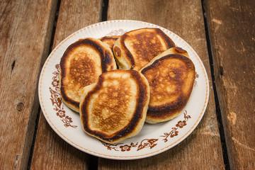 Village pancakes.