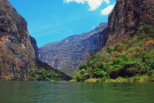 Canyon del Sumidero in Mexico