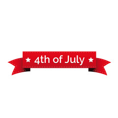 4th of july independence day ribbon
