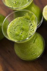 Healthy green drink, vegetable juice