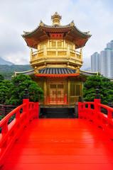 Golden Pavilion of Nan Lian Garden, Hong Kong