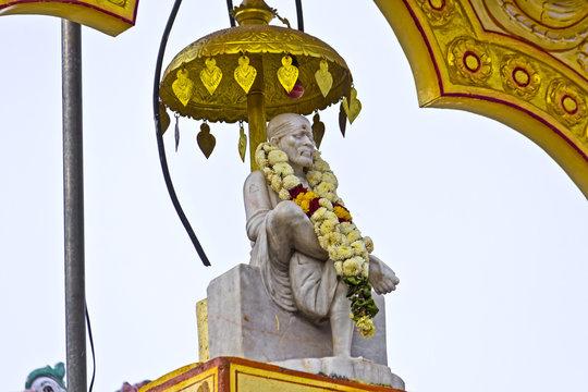 Detail of the Shirdi Sai temple in Chennai