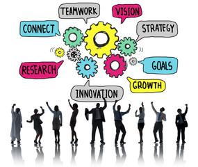Creative Innovation Development Growth Success P2an Concept