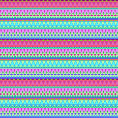seamless vector tribal striped pattern. small geometric details, colorful background for fashion, interior, stationery.