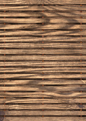 Old cracked, knotted Pine wood Place Mat grunge Texture.