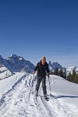 Wintersport im Karwendelgebirge