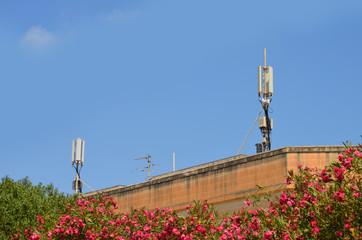 Mobile phone network base station in Malta