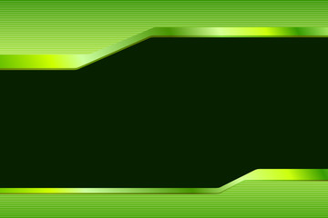 Abstract background gradient green black lines strips