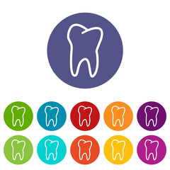 Tooth flat icon