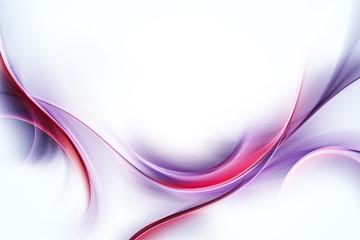 Elegant Fractal Waves Design