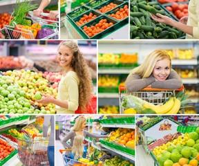 Supermarket, Shopping Cart, Shopping.