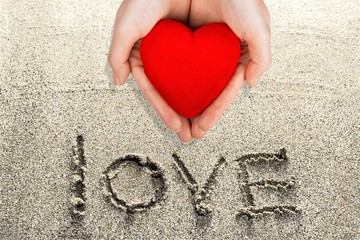 Human Heart, Human Hand, Giving.