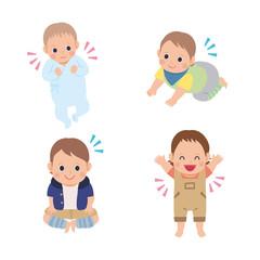 赤ちゃん イラスト 乳児