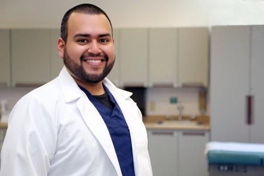 Hispanic Male Healthcare Professional