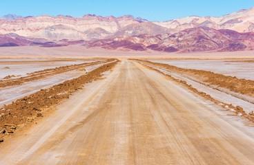 Wall Mural - Death Valley Desert Road